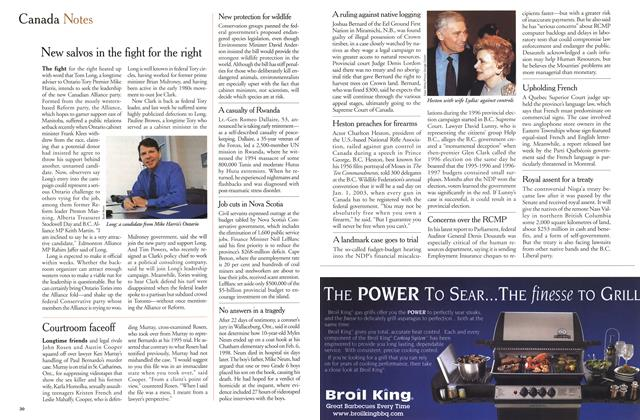 Article Preview: Canada Notes, April 2000 | Maclean's