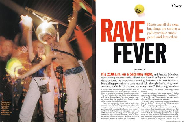 Article Preview: RAVE FEVER, April 2000 | Maclean's