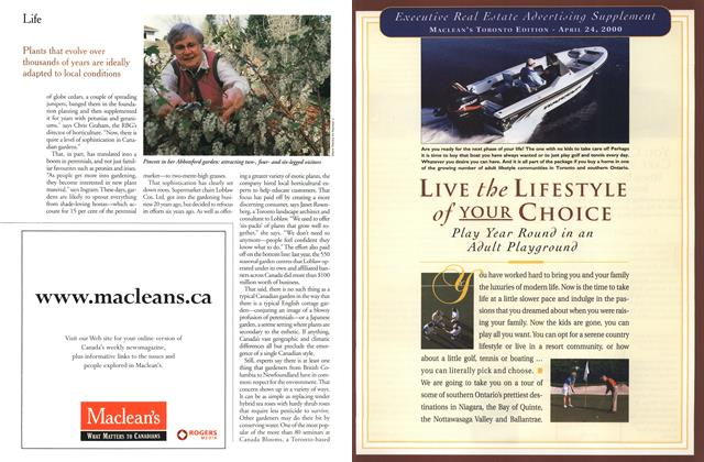 Article Preview: LIVE the LIFESTYLE of YOUR CHOICE, April 2000 | Maclean's