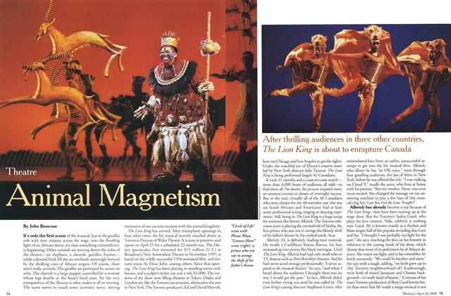 Article Preview: Animal Magnetism, April 2000 | Maclean's