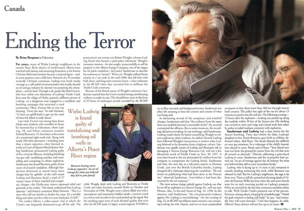 Article Preview: Ending the Terror, May 2000 | Maclean's