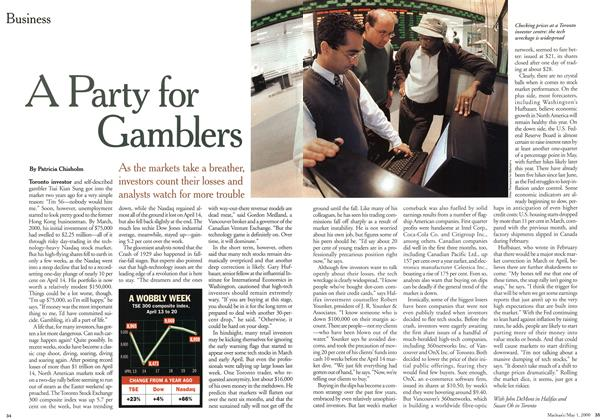 Article Preview: A Party for Gamblers, May 2000 | Maclean's