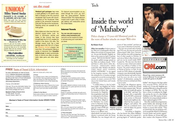 Article Preview: Inside the world of 'Mafiaboy', May 2000 | Maclean's