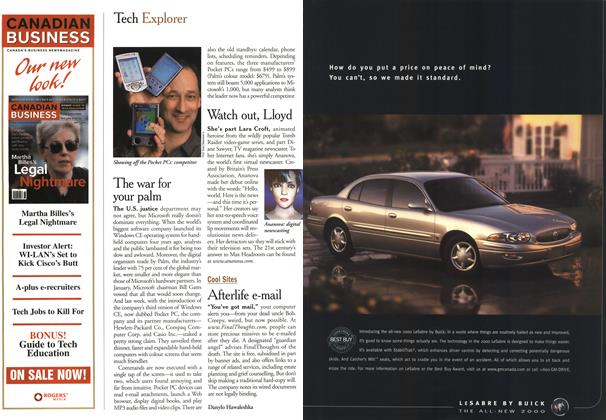 Article Preview: Tech Explorer, May 2000 | Maclean's