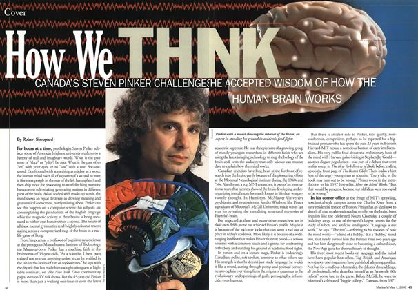 Article Preview: How We THINK, May 2000 | Maclean's