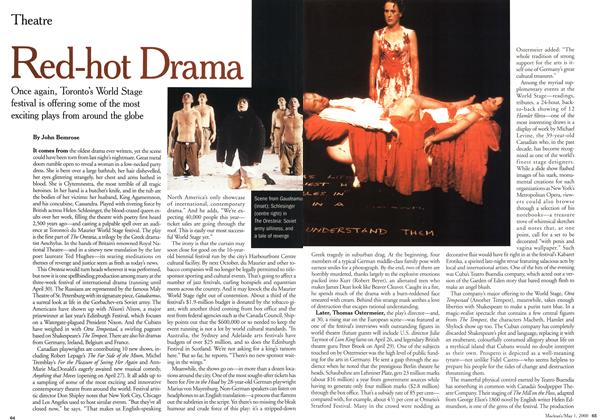 Article Preview: Red-hot Drama, May 2000 | Maclean's
