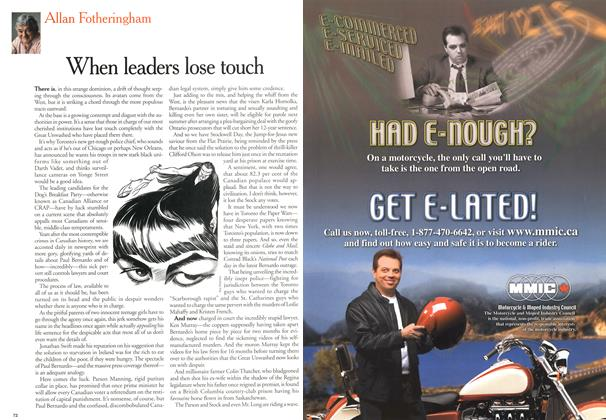 Article Preview: When leaders lose touch, May 2000 | Maclean's