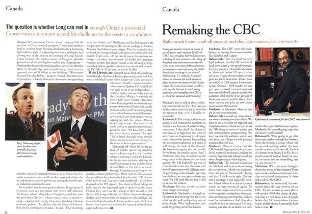 Article Preview: Remaking the CBC, May 2000 | Maclean's