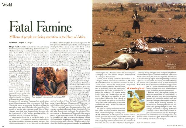 Article Preview: Fatal Famine, May 2000 | Maclean's