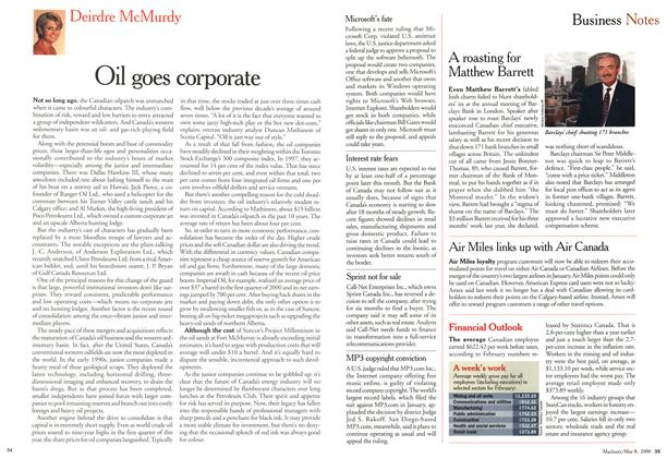 Article Preview: Oil goes corporate, May 2000 | Maclean's
