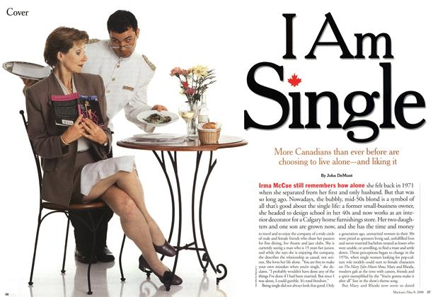 Article Preview: I Am Single, May 2000 | Maclean's