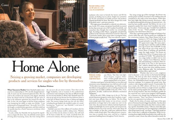 Article Preview: Home Alone, May 2000 | Maclean's