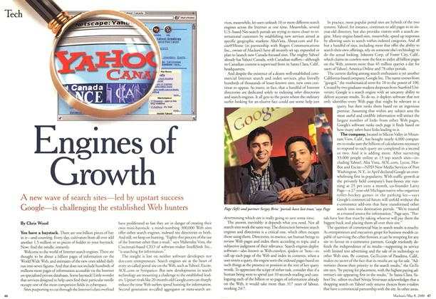 Article Preview: Engines of Growth, May 2000 | Maclean's