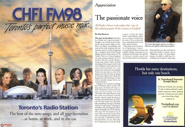 Article Preview: The passionate voice, May 2000 | Maclean's