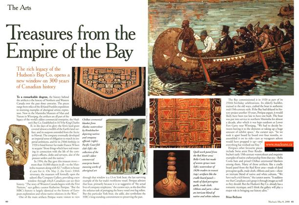 Article Preview: Treasures from the Empire of the Bay, May 2000 | Maclean's