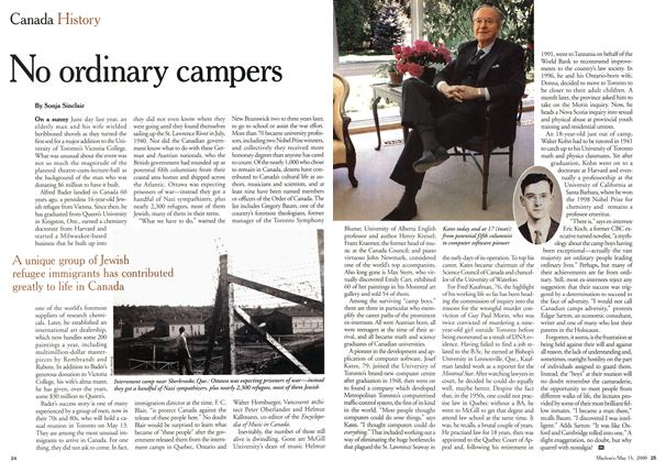 Article Preview: No ordinary campers, May 2000 | Maclean's