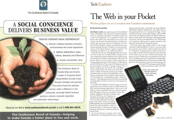 Article Preview: The in your Pocket, May 2000 | Maclean's