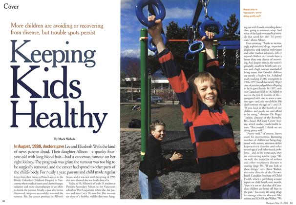 Article Preview: Keeping Kids Healthy, May 2000 | Maclean's