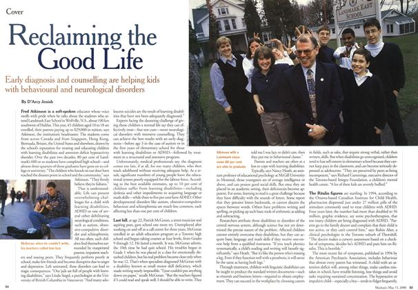 Article Preview: Reclaiming the Good Life, May 2000 | Maclean's