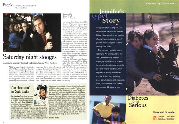 Article Preview: People, May 2000   Maclean's
