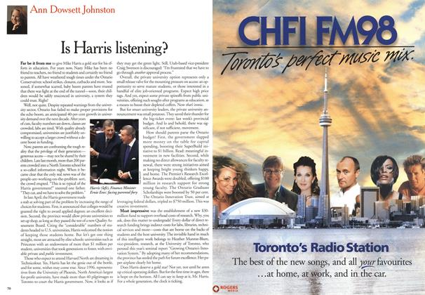 Article Preview: Is Harris listening?, May 2000 | Maclean's