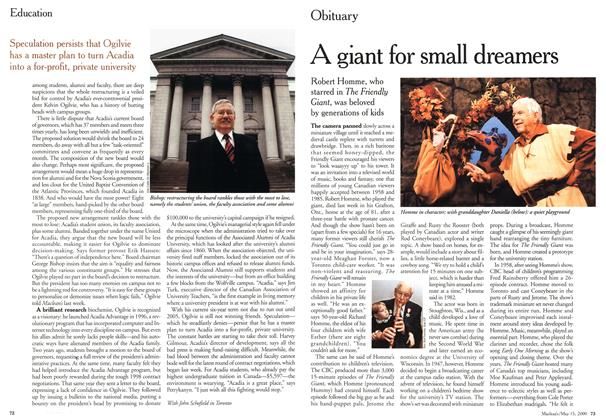 Article Preview: A giant for small dreamers, May 2000 | Maclean's