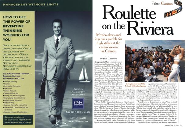 Article Preview: Roulette on the Riviera, May 2000 | Maclean's