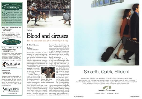Article Preview: Blood and circuses, May 2000 | Maclean's