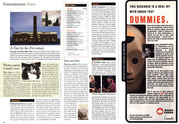 Article Preview: Entertainment Notes, May 2000 | Maclean's