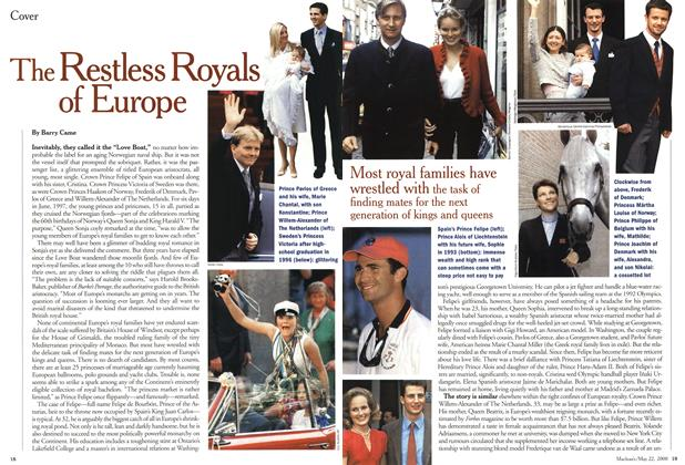 Article Preview: The Restless Royals of Europe, May 2000 | Maclean's
