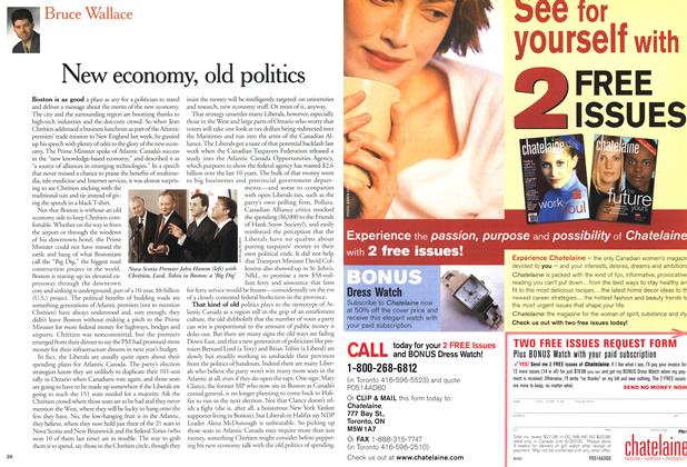 Article Preview: New economy, old politics, May 2000 | Maclean's