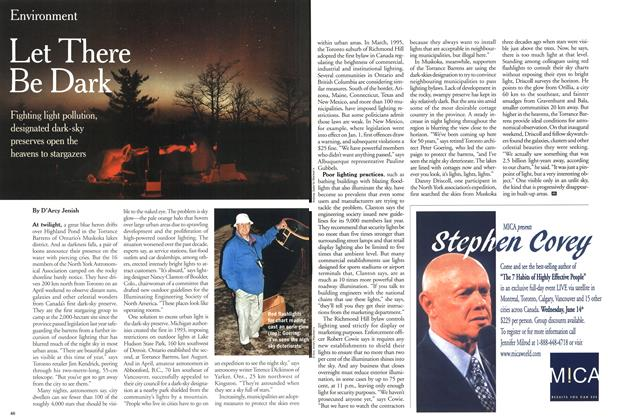 Article Preview: Let There Be Dark, May 2000 | Maclean's