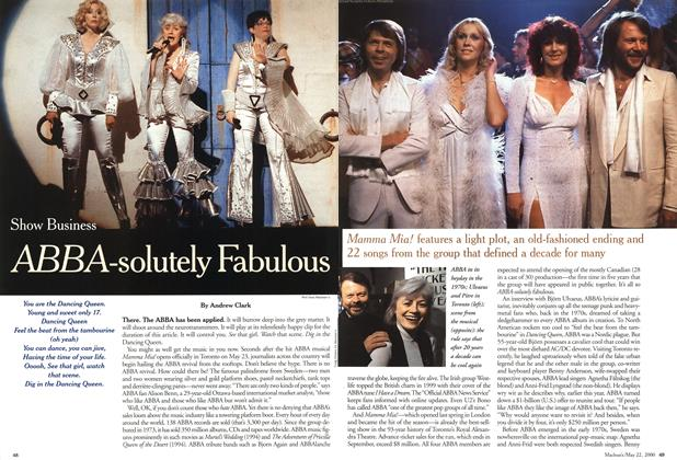 Article Preview: ABBA-solutely Fabulous, May 2000 | Maclean's