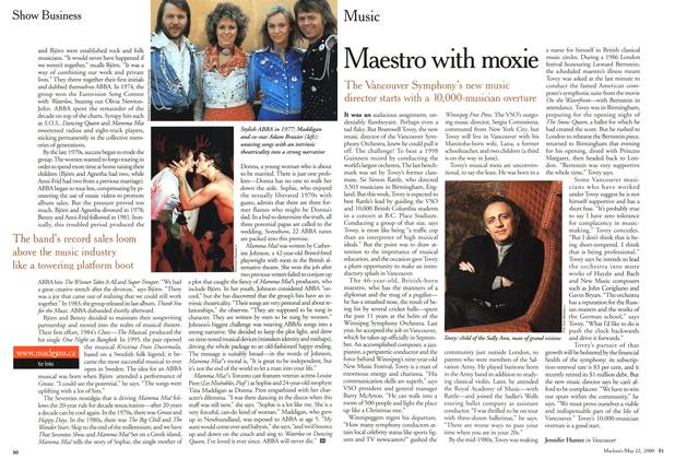 Article Preview: Maestro with moxie, May 2000 | Maclean's