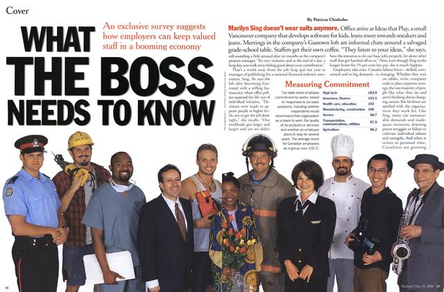Article Preview: WHAT THE BOSS NEEDS TO KNOW, May 2000 | Maclean's