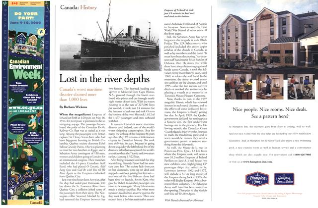 Article Preview: Lost in the river depths, May 2000 | Maclean's
