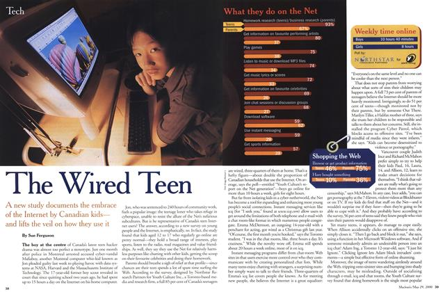 Article Preview: The Wired Teen, May 2000 | Maclean's