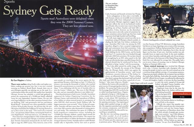 Article Preview: Sydney Gets Ready, May 2000   Maclean's
