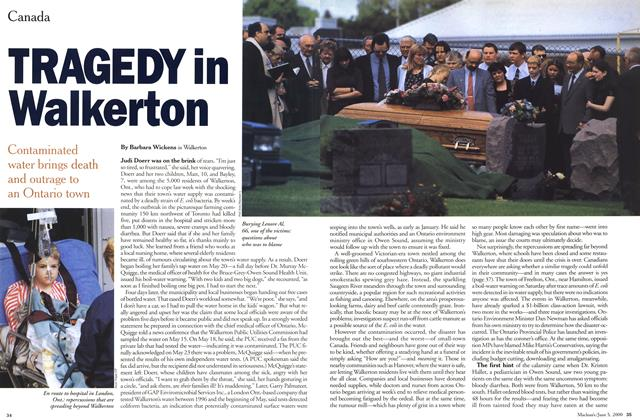 Article Preview: TRAGEDY in Walkerton, June 2000 | Maclean's