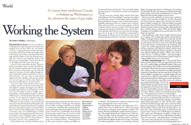 Article Preview: Working the System, June 2000 | Maclean's