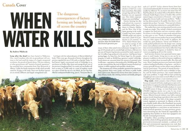 Article Preview: WHEN WATER KILLS, June 2000 | Maclean's