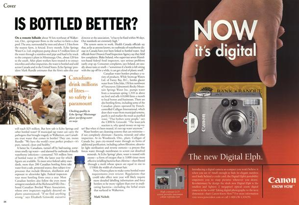 Article Preview: IS BOTTLED BETTER?, June 2000 | Maclean's