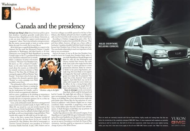 Article Preview: Canada and the presidency, June 2000 | Maclean's
