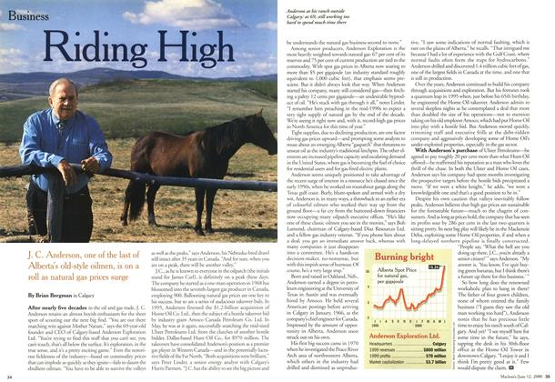 Article Preview: Riding High, June 2000 | Maclean's
