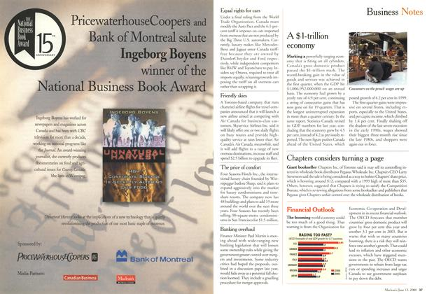 Article Preview: Business Notes, June 2000   Maclean's