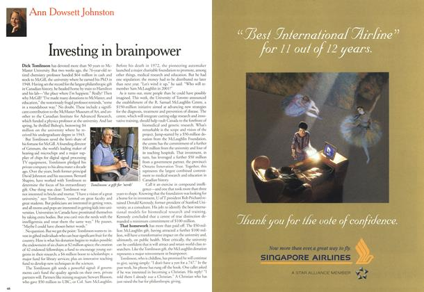 Article Preview: Investing in brainpower, June 2000 | Maclean's