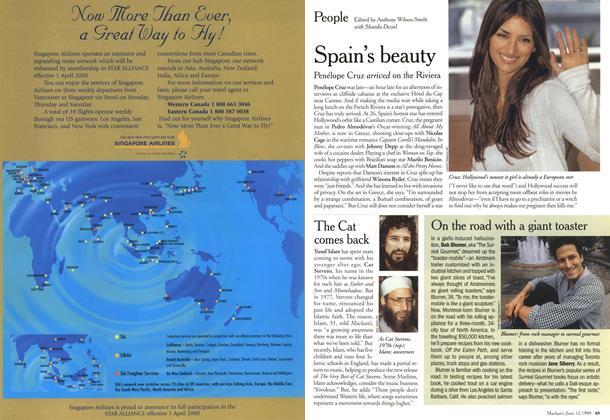 Article Preview: People, June 2000 | Maclean's