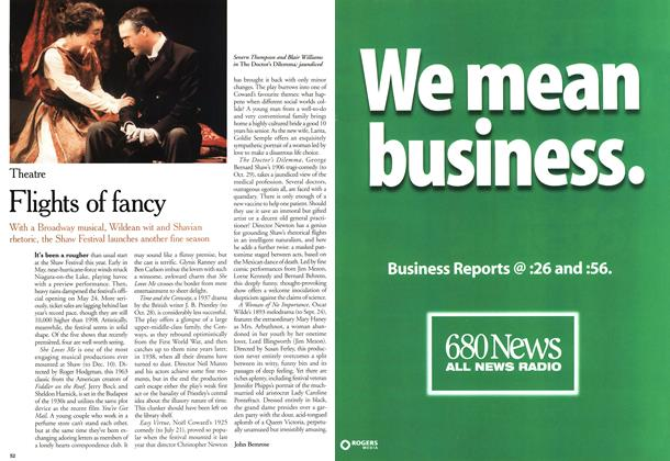 Article Preview: Flights of fancy, June 2000 | Maclean's