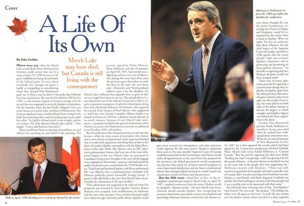 Article Preview: A Life Of Its Own, June 2000 | Maclean's