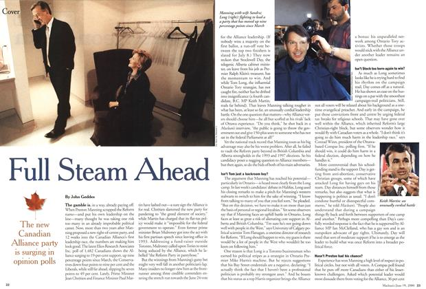 Article Preview: Full Steam Ahead, June 2000 | Maclean's